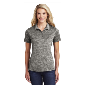 Sport-Tek® Ladies PosiCharge® Electric Heather Polo
