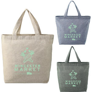 Recycled 5oz Cotton Twill Grocery Tote